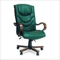 Midas Wooden Arm Executive Chair