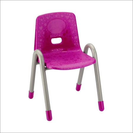 Metal Foot Plastic Nursery Chair