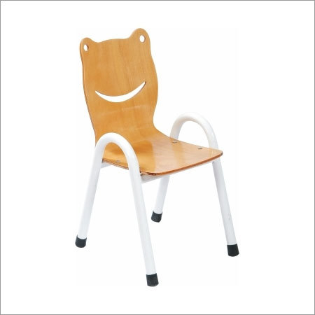 Nursery Chair with Metal Legs