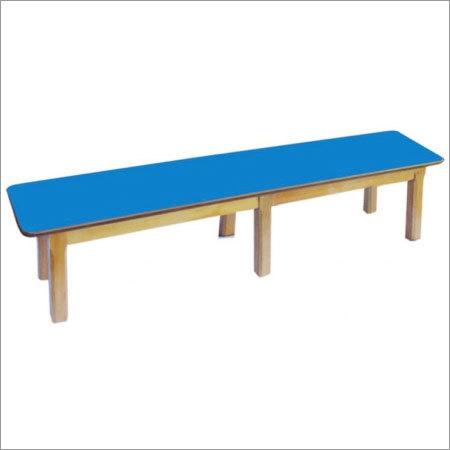 Kindergarten Wooden Leg Bench