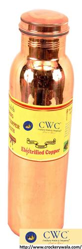 Leak Proof Joint Free Copper Water Bottle, 1050 Ml