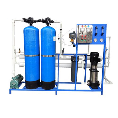 1000-ltr FRP RO Plant