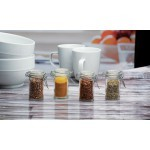 Circleware Round Mini Hermetic Spice Jar 60ml