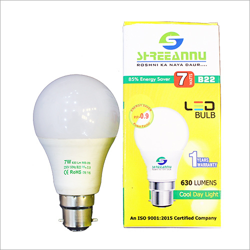 7 Watt LED Bulb Light