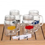 Circleware Yorkshire Chalk Style 500ml 4Pcs