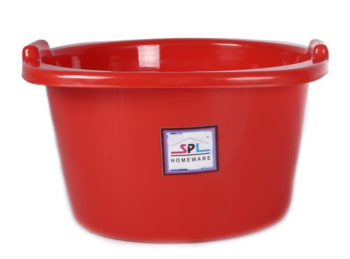 PLASTIC SQUARE TUB 350