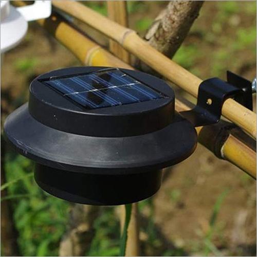 Black Bracket Solar Led Light