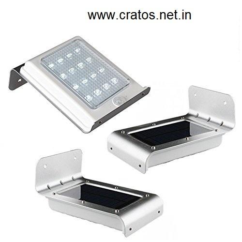 Solar Motion Sensor Outdoor Wall Light