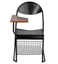 THE ESCRITURA WRITING CHAIR BLACK WITH FIX FRAME