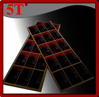 Metallic Self Adhesive Labels for High End Perfumes