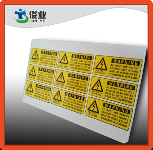 Electronics Labels & Stickers