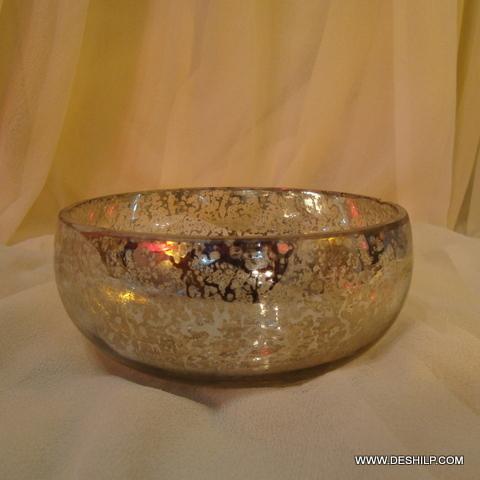 Clear Glass Decorative Bowls