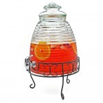 Circleware Beehive w/necklace chalk disp. Chrome spout and stand