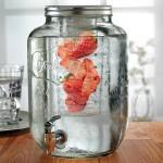 Circleware Yorkshire dispenser- 2 infuser 256oz-Ice tube & Fruit infuser