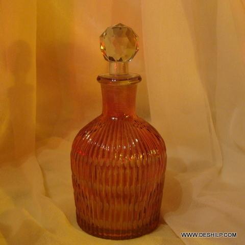 Vintage Glass Liquor Decanter