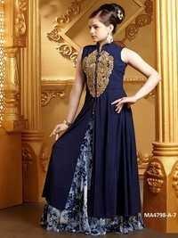 Designer Georgette Gown