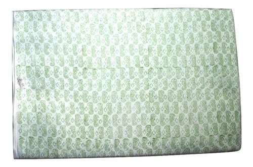 Hand Block Printed Cotton Ethnic Fabric