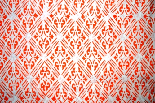Hand Block Printed Cotton Ethnic Fabric