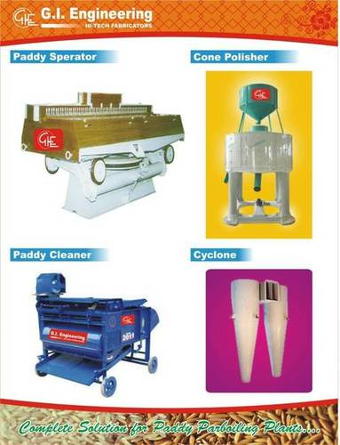 Paddy Parboiling Machine