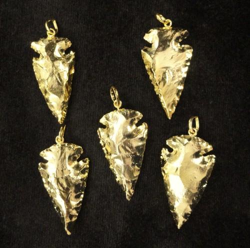 Arrowhead Gemstone Pendant