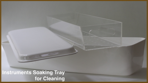 Instruments Soaking Tray for Cleaning