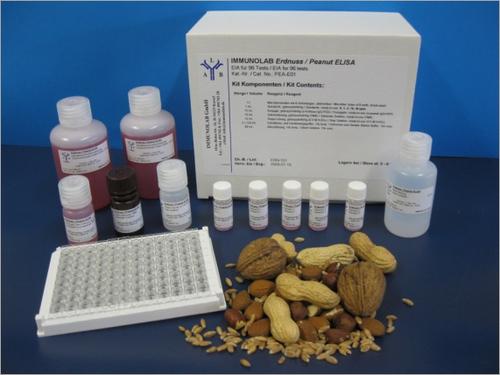 Immunolab Test Kits for Gluten Peanuts Walnut Almond
