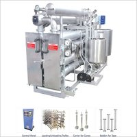 HTHP HORIZONTAL TUBULAR DYEING MACHINE