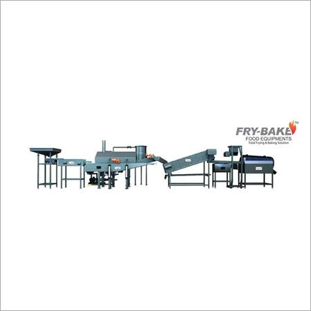 Automatic Pellets Frying Line