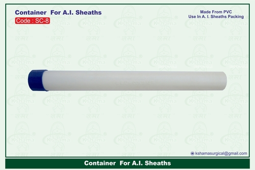 Container For A.I. Sheaths