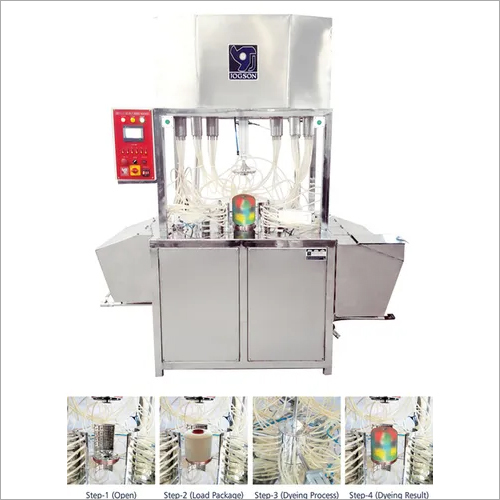 MULTICOLOR SPACE DYEING MACHINE
