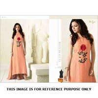 Designer Cotton Anarkali Suits
