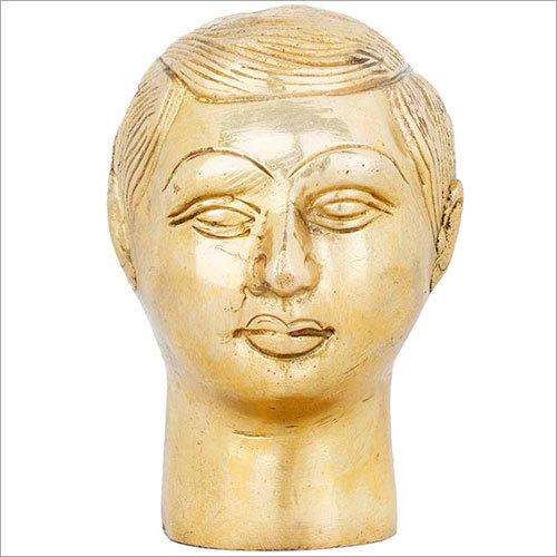9.5cm Brass Men Face