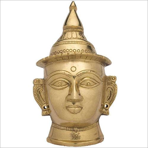Brass Devi Mukhota