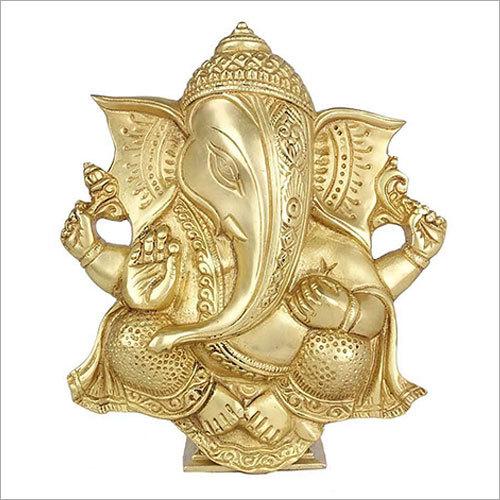 Brass Wall Hanging Ganesha
