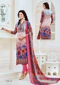 Printed Cotton Salwar Suit