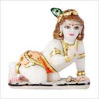 Marble Laddu Gopal Idol