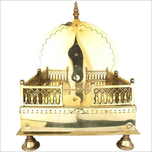 47.5cm Panchdhatu Singhasan