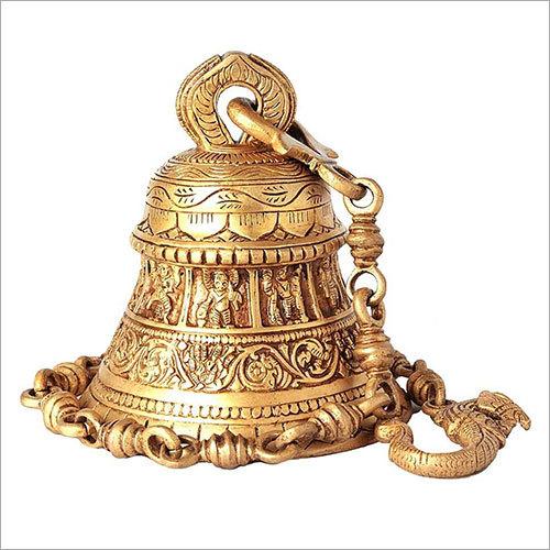 Brass Carving Ghanta
