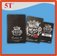 AKDMKS Black Hang Tags with Barcode