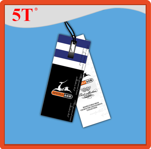 Hang Tags with Rectangular Holes