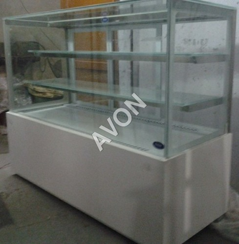 Display cuboid with courian(CRISTAL SILVER E3)