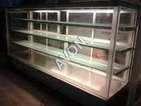 Pastry display Cuboid frost free with split unit