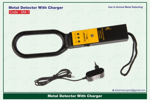 Metal Detector With Charger