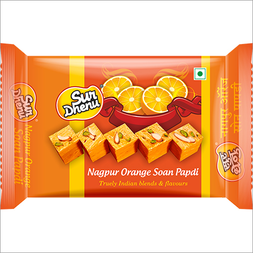 Orange Soanpapdi
