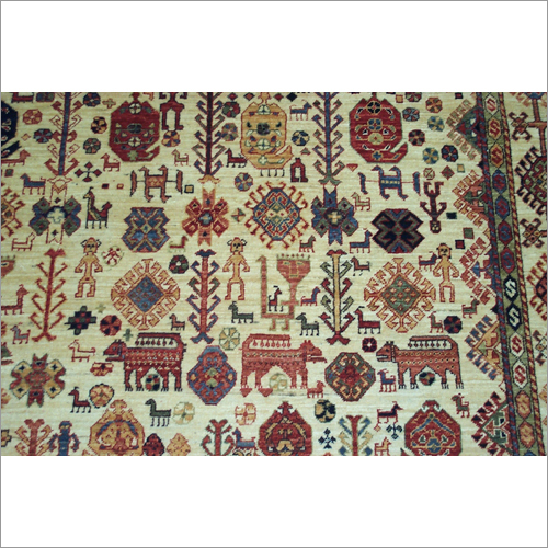 Decorative Hand Knotted Area Rugs
