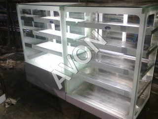 G3.Hot n Cold Display Cabinet(Gold E4)