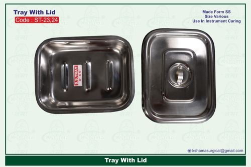 Tray With Lid