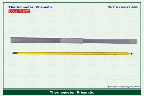 Thermometer  Prismatic