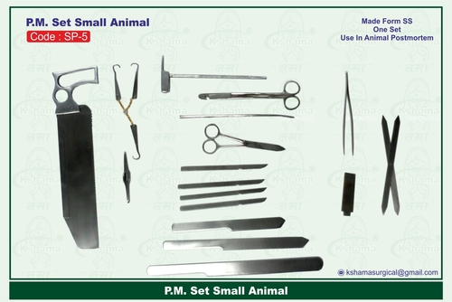 P.M. Set Small Animal