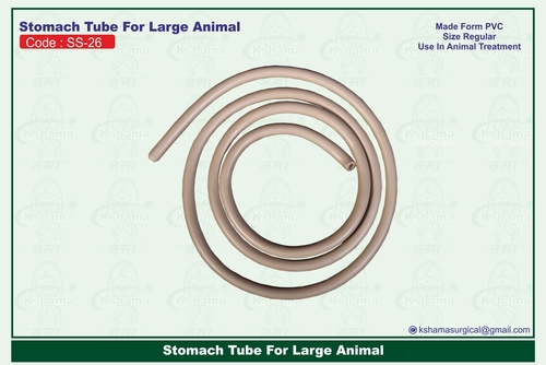 Stomach Tube For Large Animal